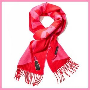 New Victoria's Secret Angel Lipstick Red Scarf